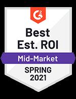 Best Est. ROI Mid-Market Spring 2021