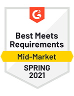 Best Meets Requirements Mid-Market Spring 2021