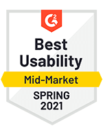 Best Usability Mid-Market Spring 2021
