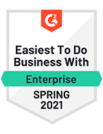 Easiest to Do Business With Enterprise Spring 2021