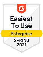 Easiest to Use Enterprise Spring 2021