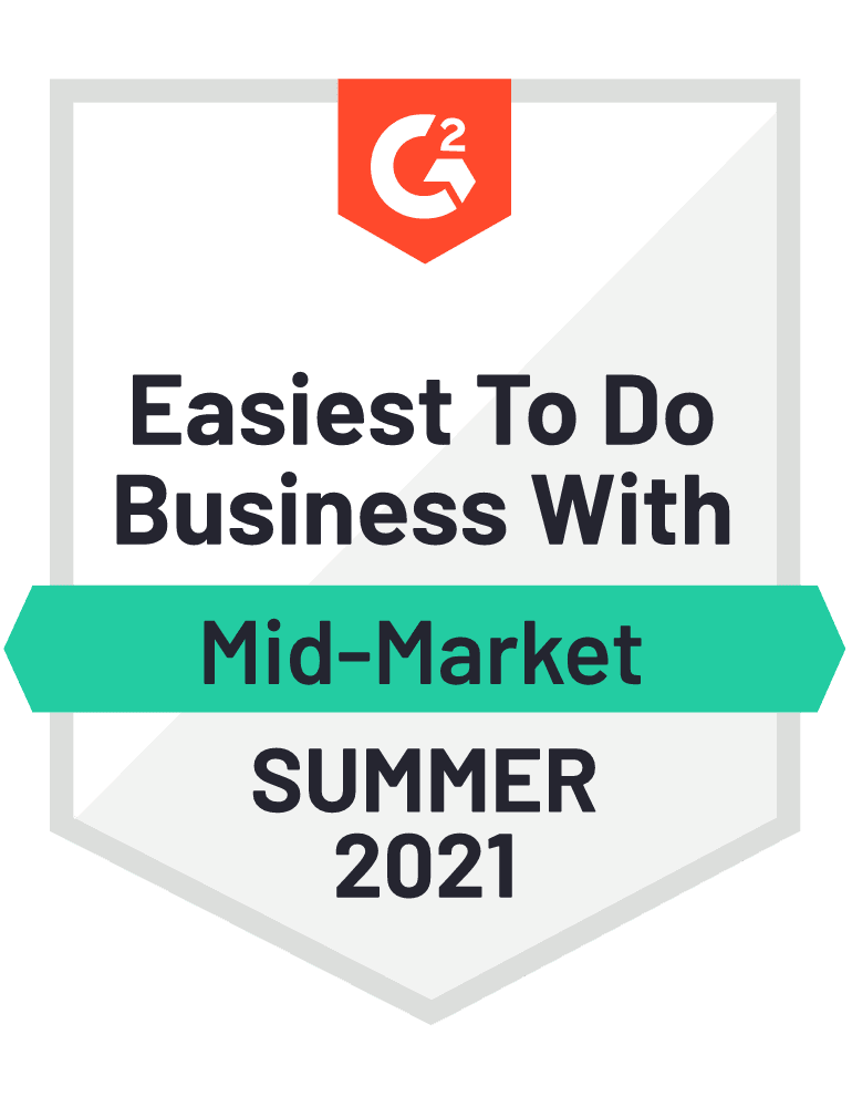 Easiest to Do Business With (Mid-Market MFT)
