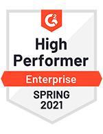 High Performer Enterprise Spring 2021