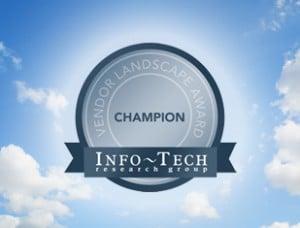 managed file transfer vendor landscape champion