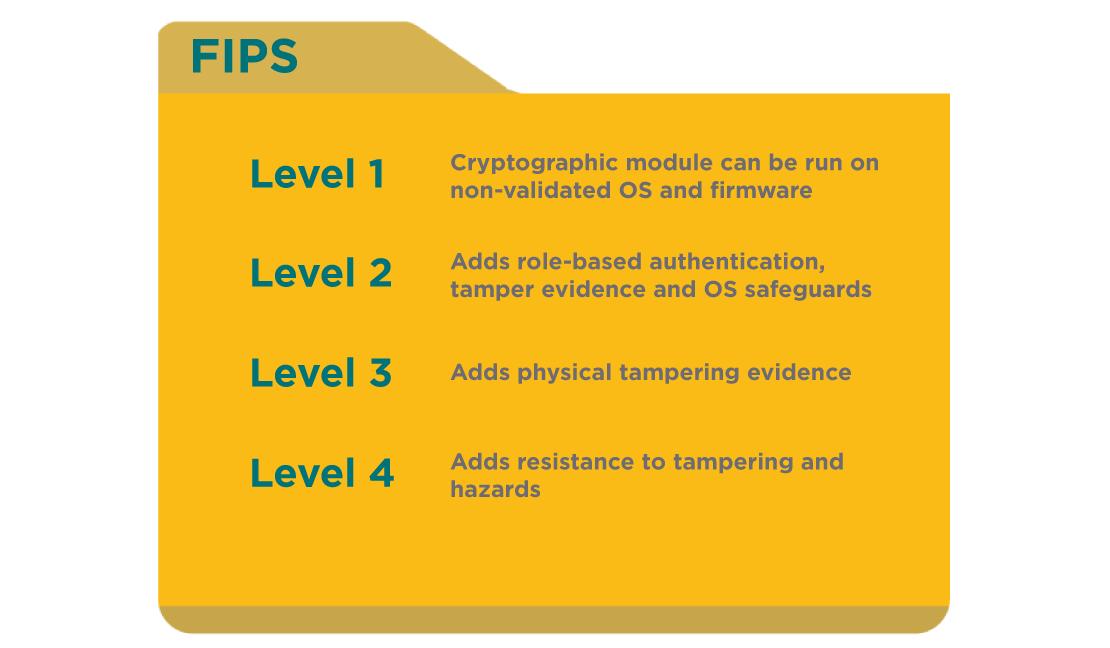 FIPS-levels