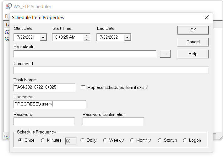 Administração fácil - WS_FTP - Professional FTP Client Software