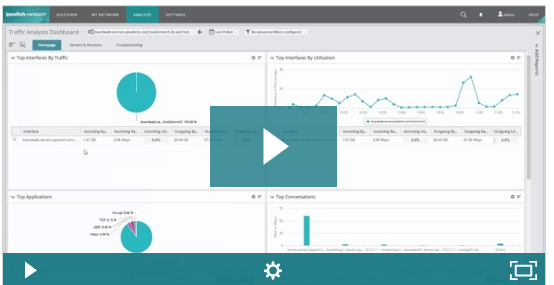 Watch this short video to learn more about network traffic analysis.