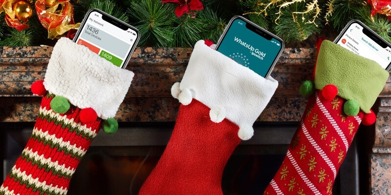 Just in Time for the Holidays: A WhatsUp Gold App That Fits in Your Stocking!