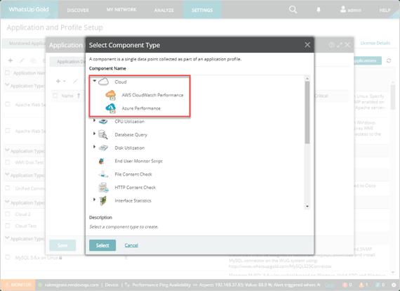 Monitor Cloud Applicaties